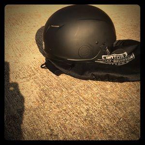 NWOT Harley Davidson half helmet. SALE